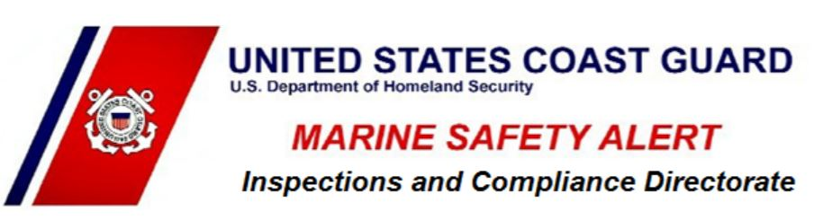 Enclosed/Confined Space USCG Marine Safety Alert 04-19