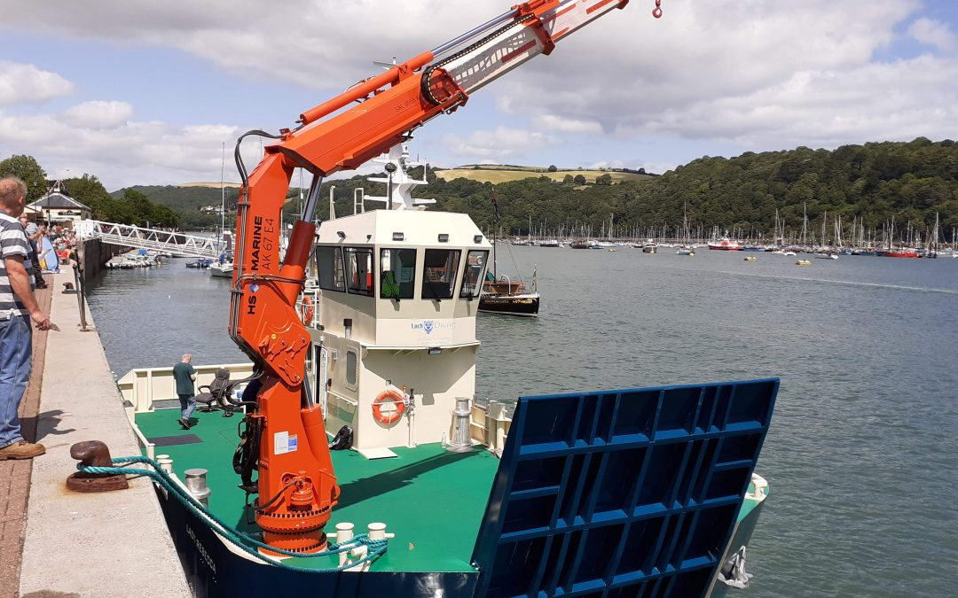 MCA Approved Stability. Under 24m Workboat.
