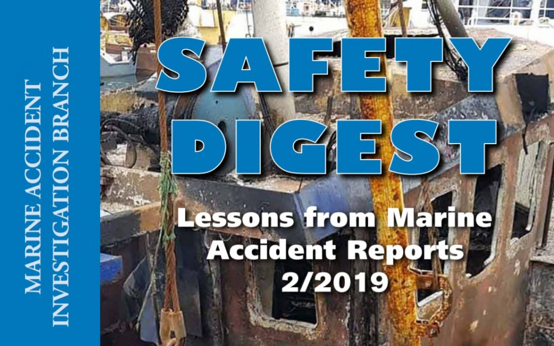 MAIB safety digest: volume 2, 2019