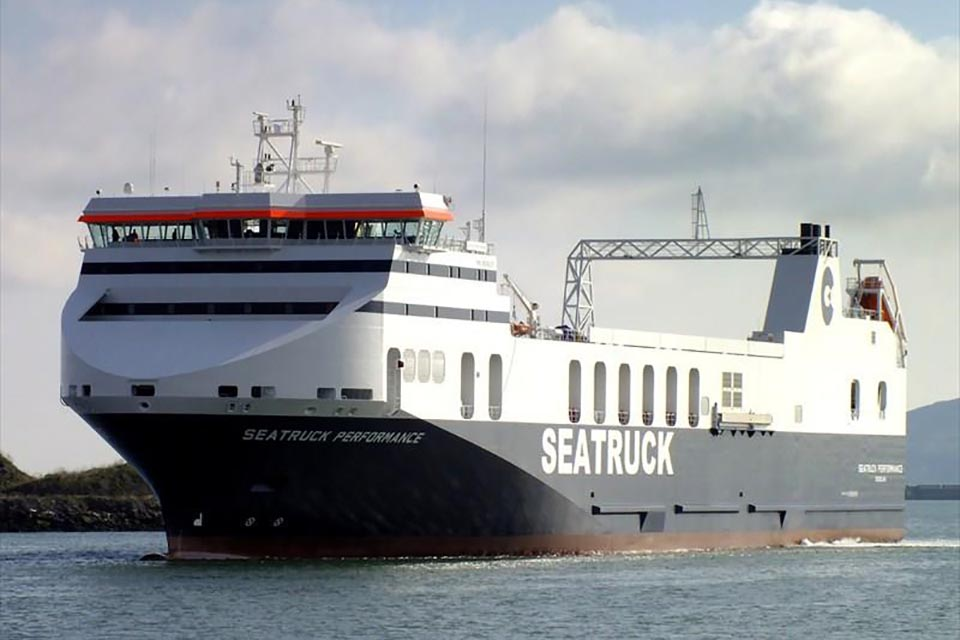 Grounding Seatruck Performance in Carlingford Lough